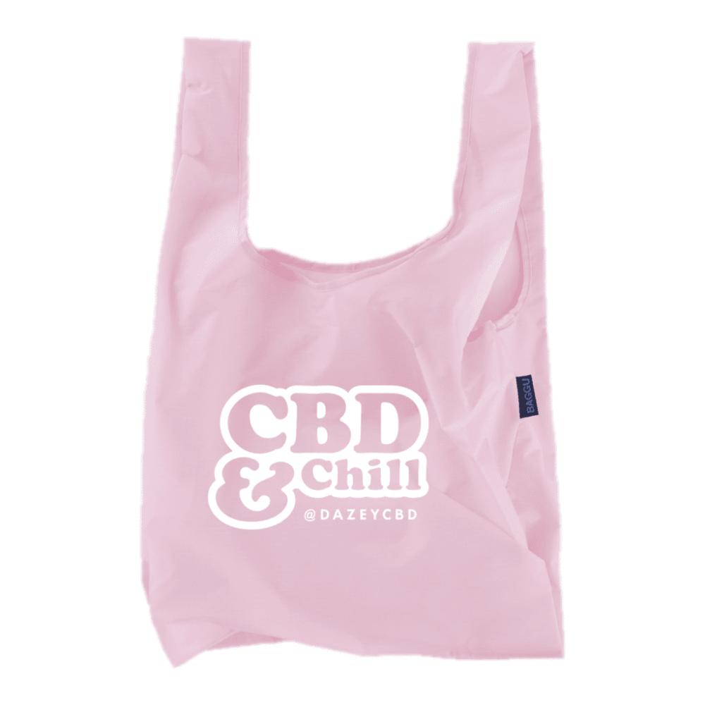 """""""CBD & CHILL"""" Baggu Tote"""